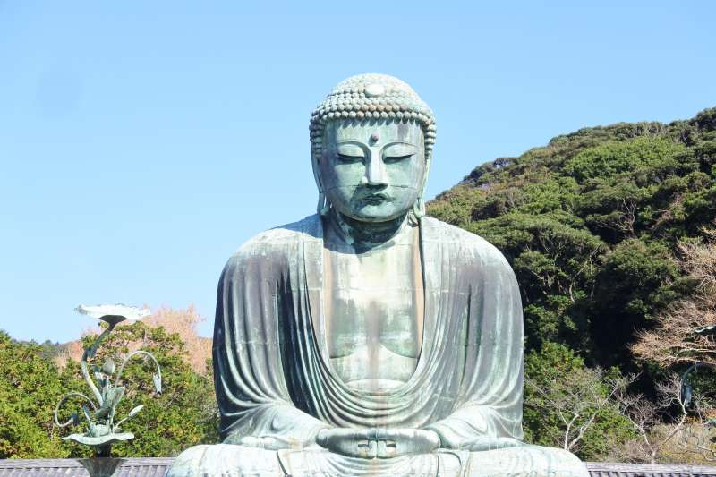 The Great Buddha at Kotokuin temple