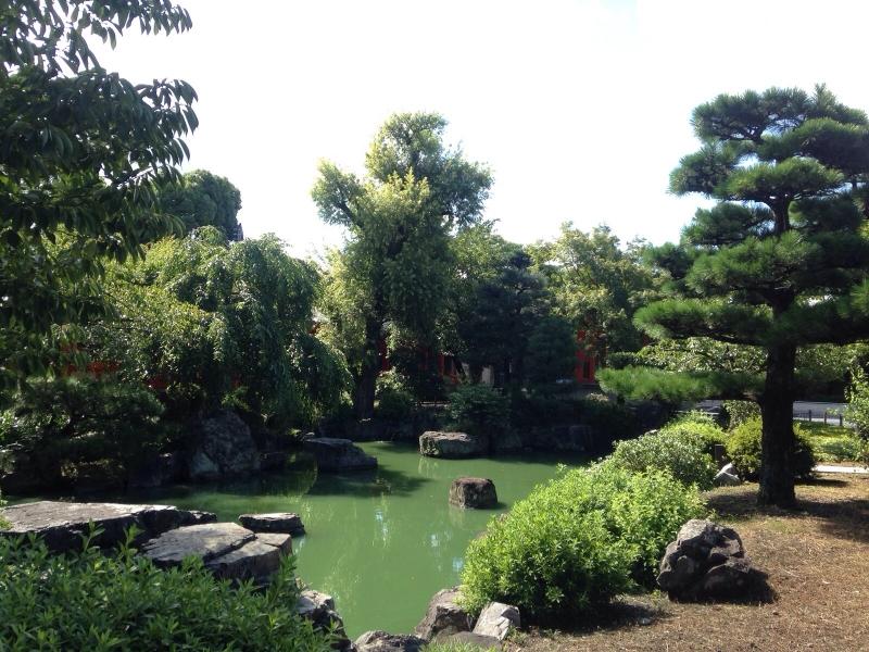 tenryuji temple zen garden