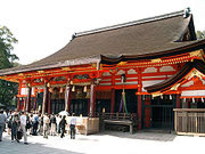 Yasaka Shrine Main Sacred Hall