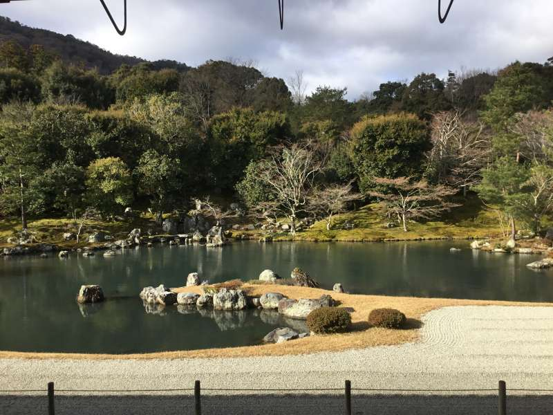 Sogenchi Teien in tenryuji temple combining with both aristocratic culture and Zen culture.