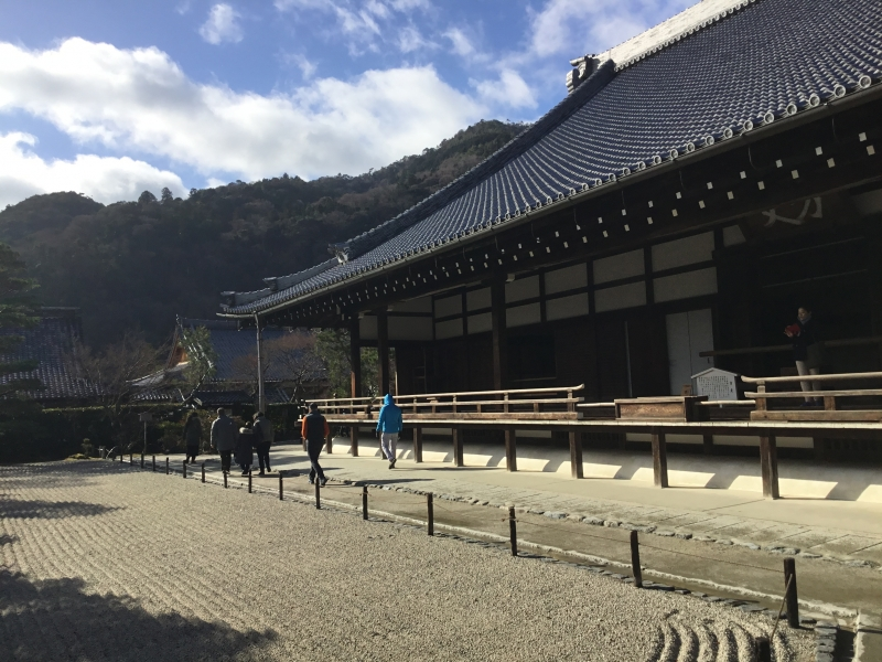 Tenryu-ji temple as a top-ranked among the Five Great Zen Temples of Kyoto
