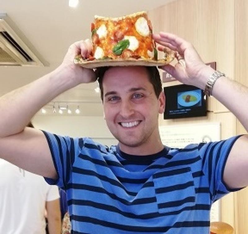 (Fake) Pizza hat!!
