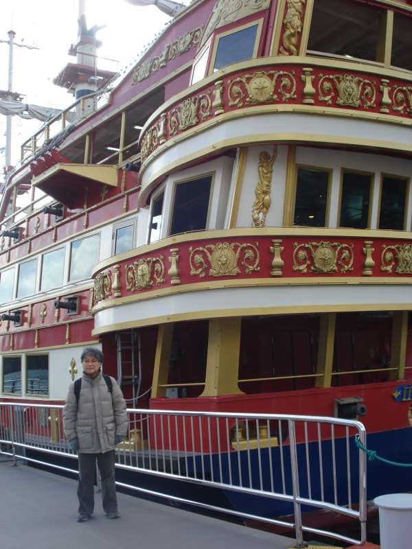 We can get panoramic view from the ferry boat which is disguised as a pirate ship. Enjoy sailing from Motohakone to Togendai. Mt. Fuji will show its majestic figure on a fine day.
