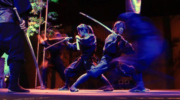 Oh, yes there are some shows for fun!! you can see Ninja!!
