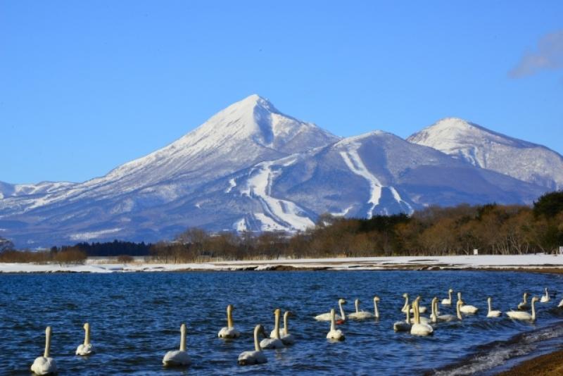 Mt. Bandai & Lake Inawashiro