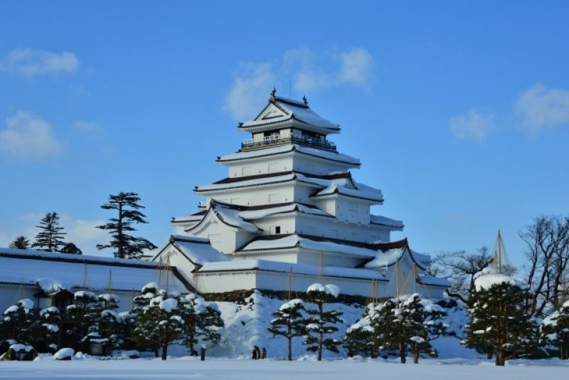 Tsuruga-jo Castle, Aizu Wakamatsu city