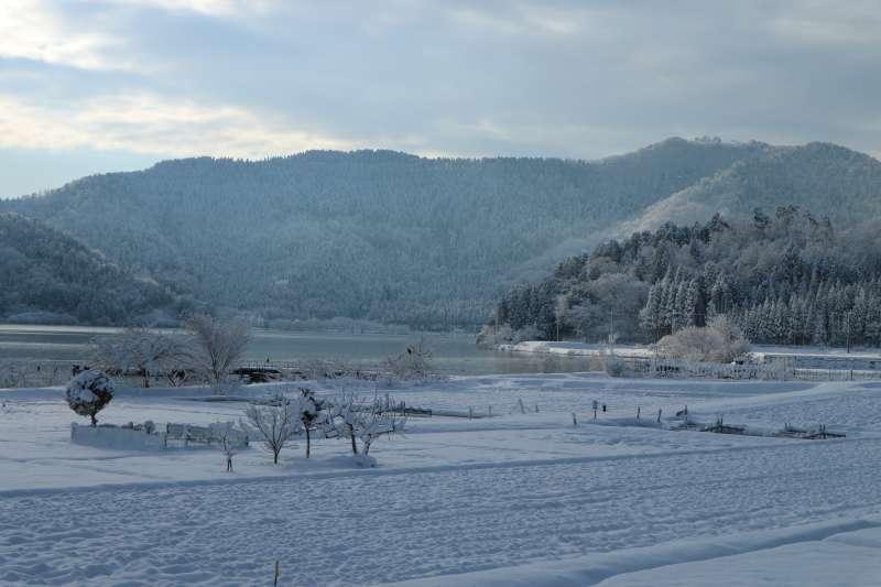 Winter Landscape along Lake Yogo [2 of 3]