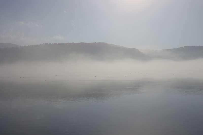 Lake Yogo in the Foggy Morning (余吴湖在有雾的早晨) [2 of 4]