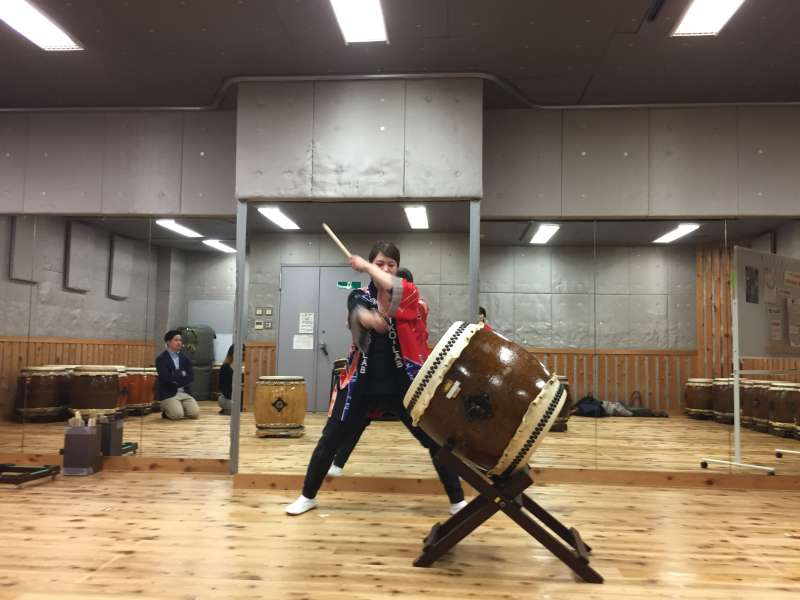 Wa-Daiko (Japanese style drums) School Experience and Asakusa City View, 4 hours