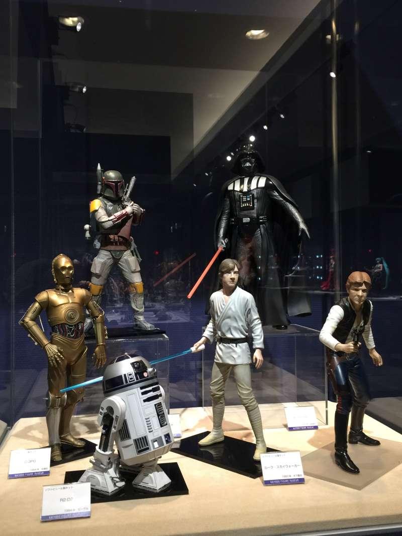 Imaginary Heroes of Japanese Anime At Kaiyodo Figure Museum Kurokabe