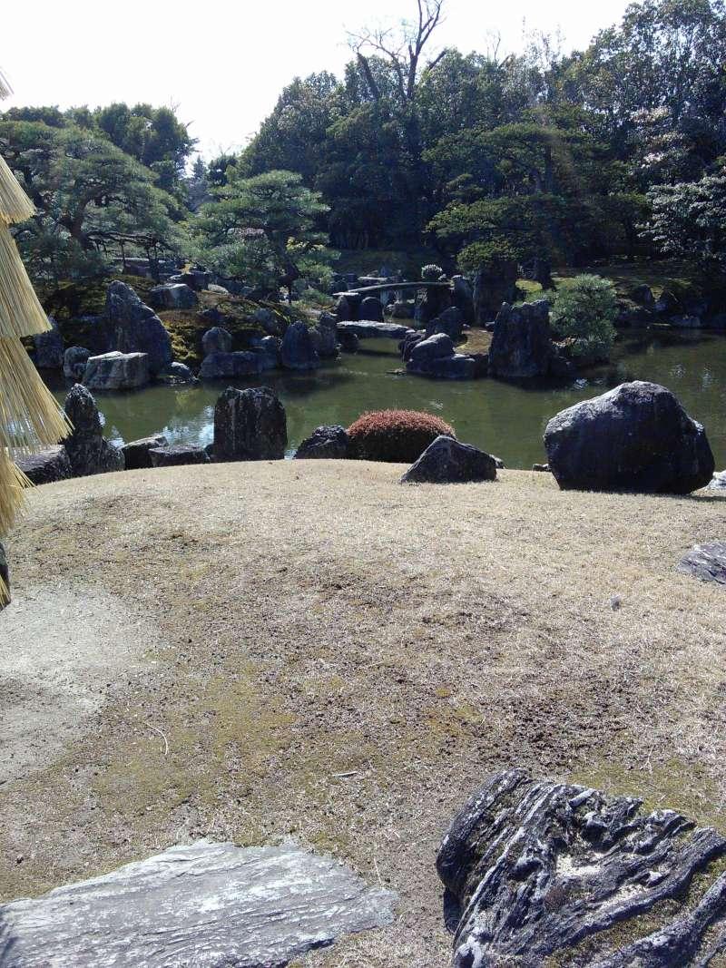 THE GARDEN OF NIJO CASTLE