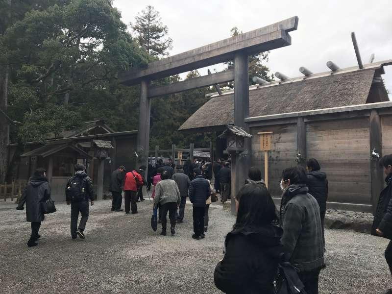 Outer Shrine, 1500 yr history