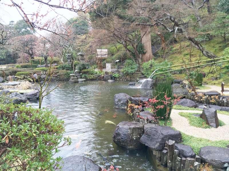 Japanese Garden in Hase-dera Temple