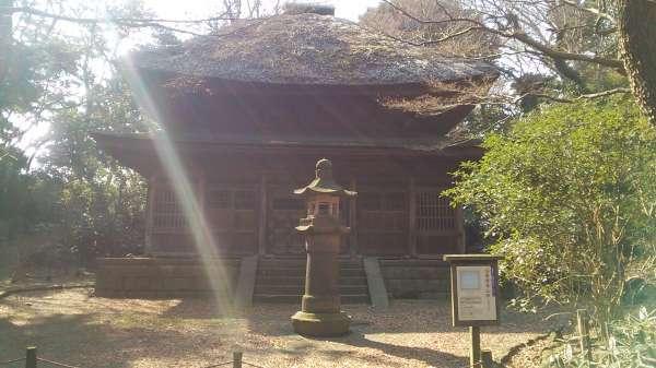 Butsu den de Toukei-ji reconstruido desde Kamakura