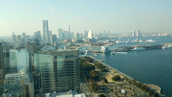 La vista desde la torre Mrine Tower