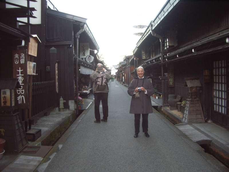 on Sannomachi street