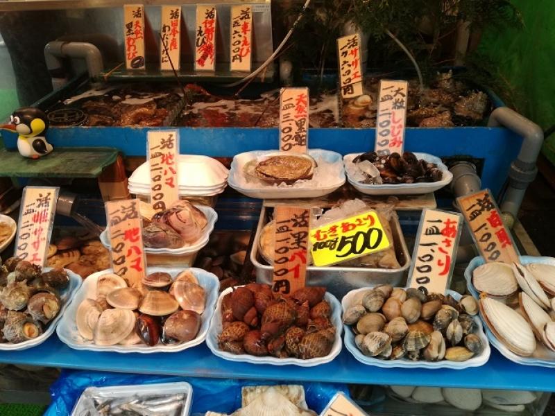 Tsukiji Fish Market Mornig Tour
