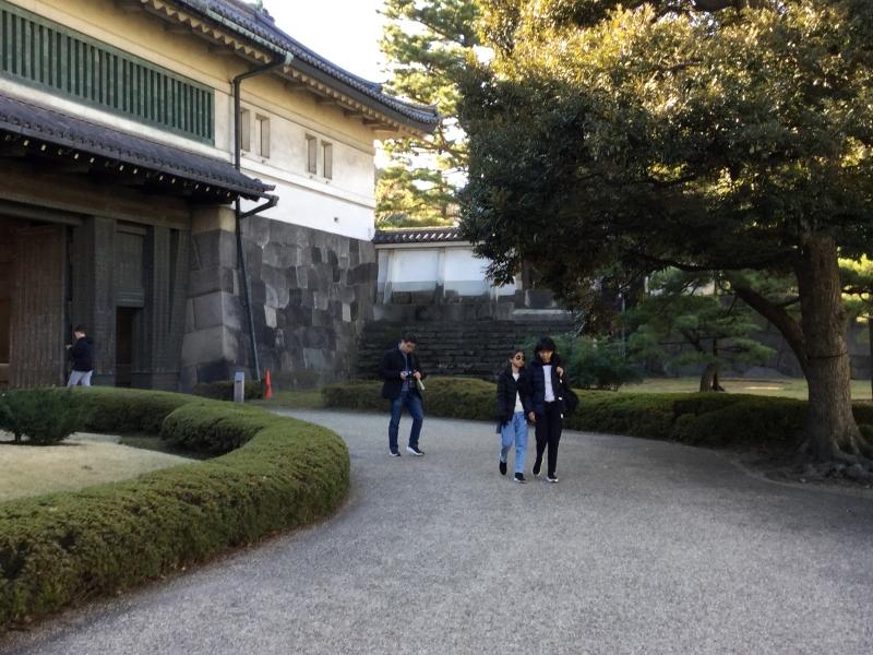 9. Hirakawamon Gate where our tour ends.