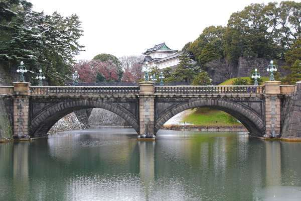 2. Stone Bride which is the formal entrance of the Imperial Palace.