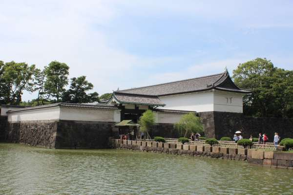 4. Ohte gate which used to be  the main gate of Edo castle where you can see the original statue of Shachihoko made in Edo period.