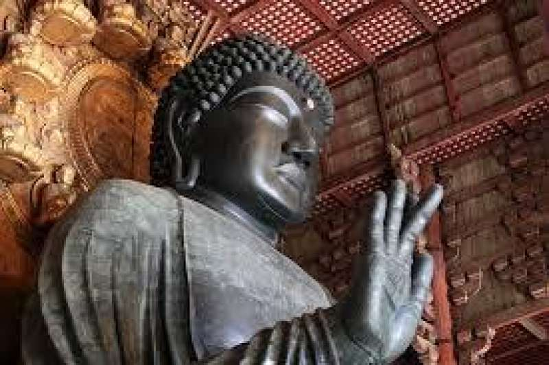 Great Buddha Statue housed in Todaiji Temple