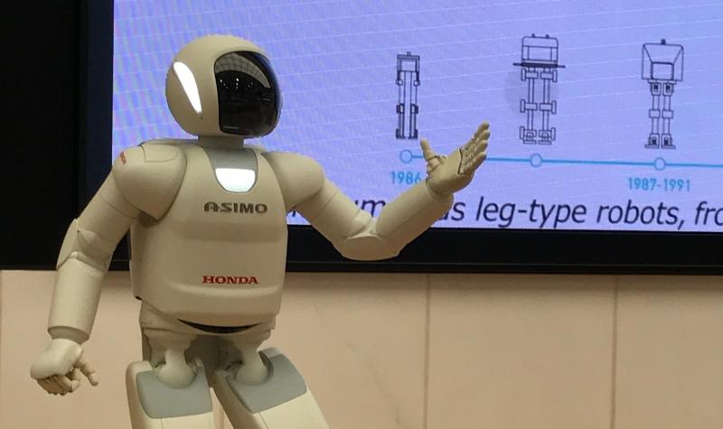 Asimo show--Honda's humanoid robot (#15)