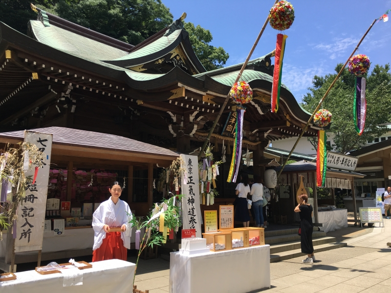 star festival season, in Enoshima Island
