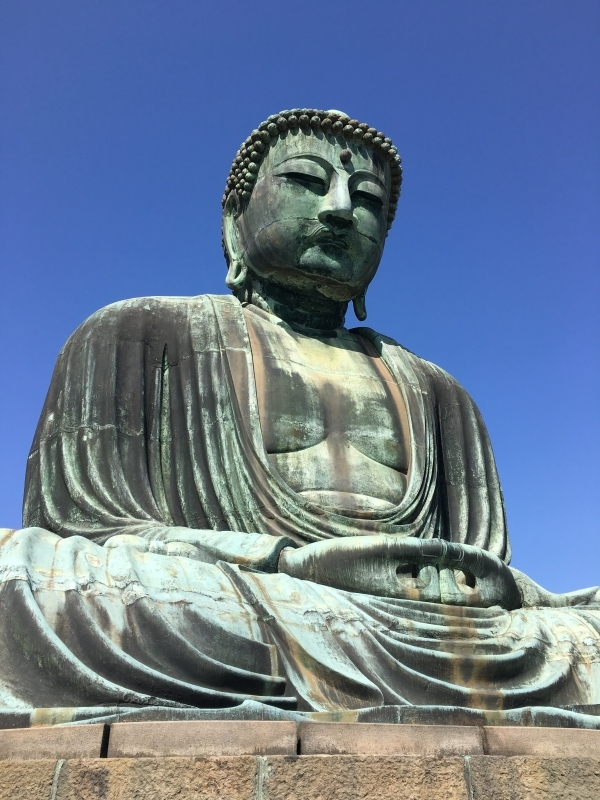 The Great Buddha of Kotoku-in Temple