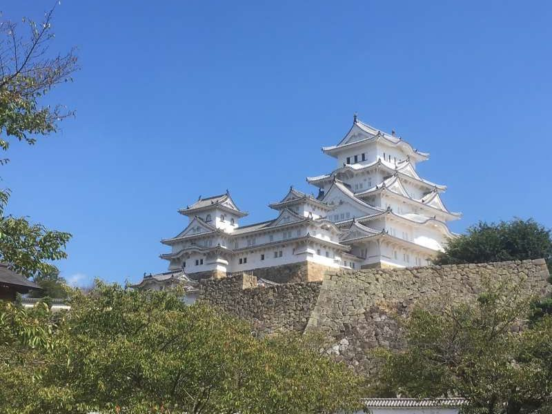 Himeji Castle the first World Heritage site in Japan in 1993.