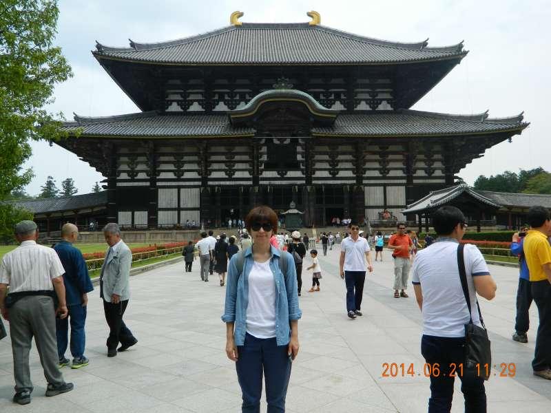 Toda-ji Temple (東大寺) in Nara