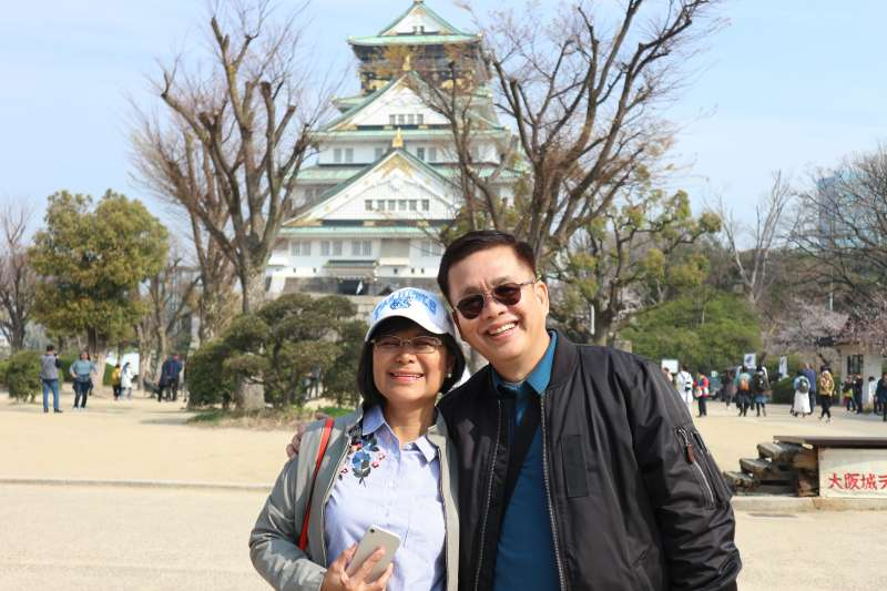 Osaka Jyo Castle (大阪城) in Osaka