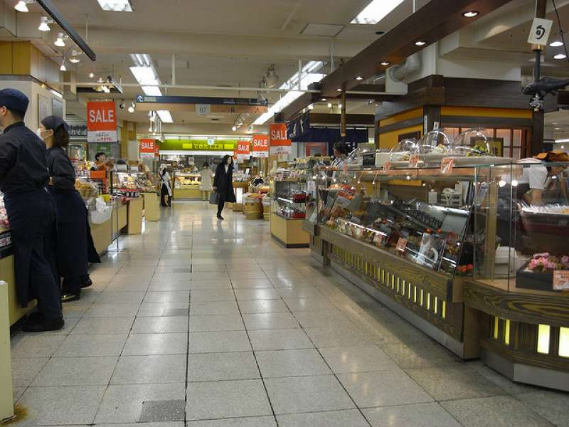 Depa-Chika, food section of the departmentstore