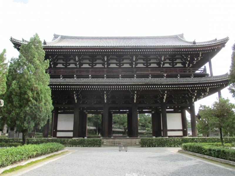 Tohfuku-ji Temple : The Sanmon Gate