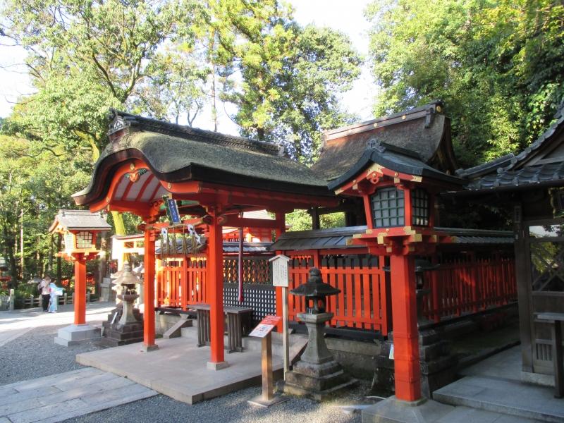 Fushimi Inari : One of the small shrines within Fushimi Inari Shrine