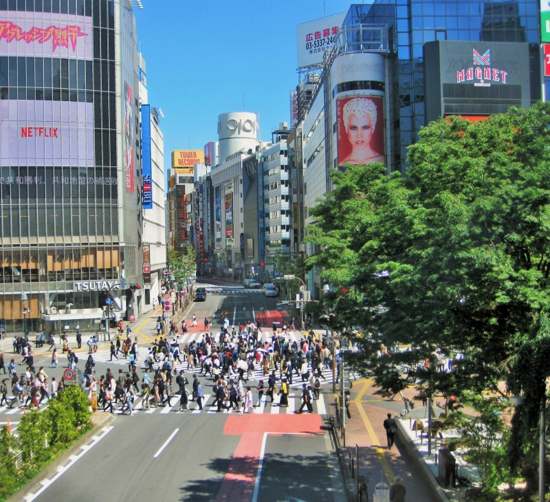 Shibuya: Crazy crossing