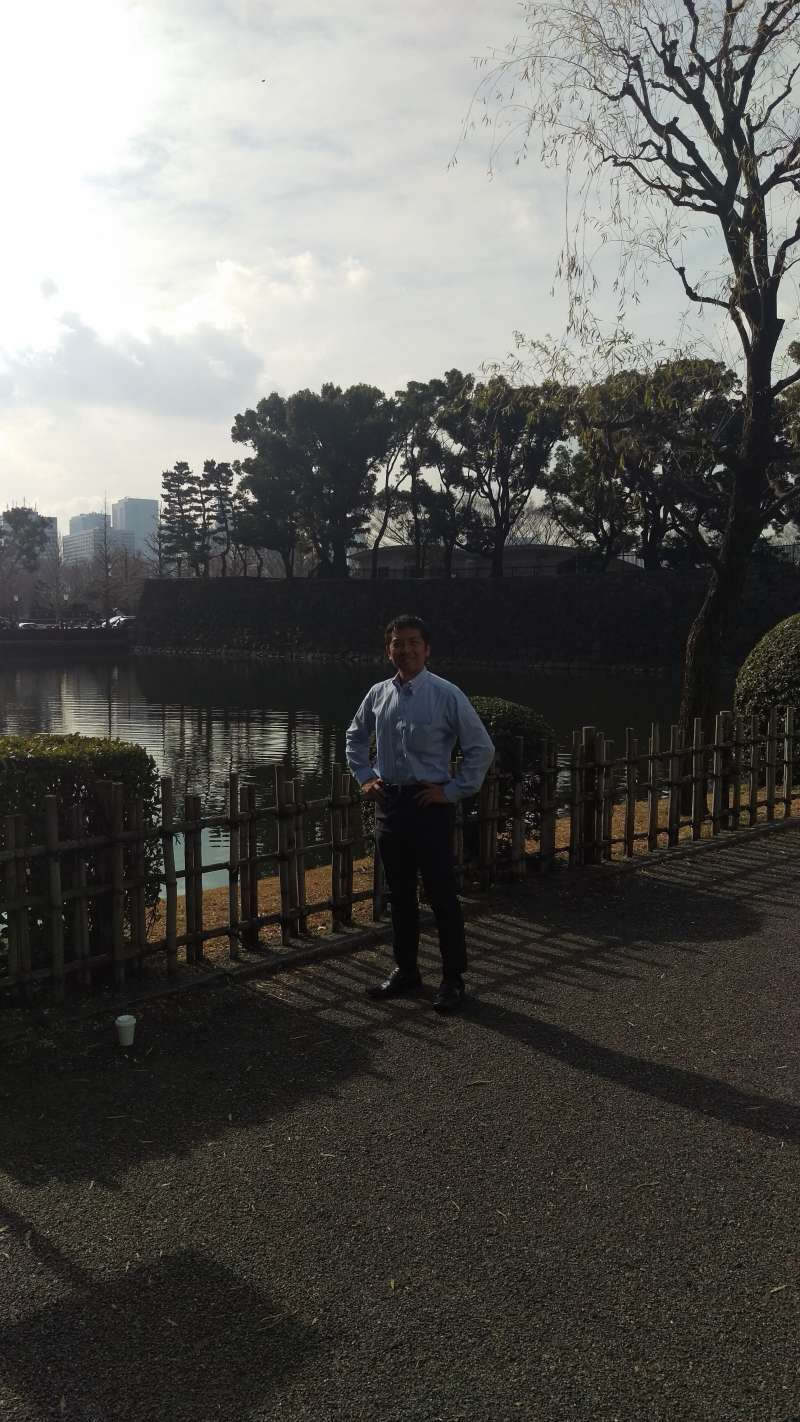 Outer moat surrounding the Imperial Palace