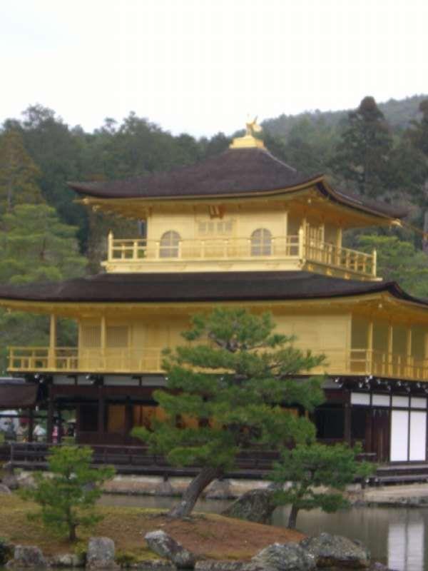 Golden pavillion!
