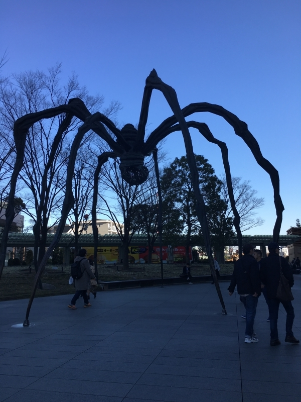 One of the art monuments at Roppongi Hills.