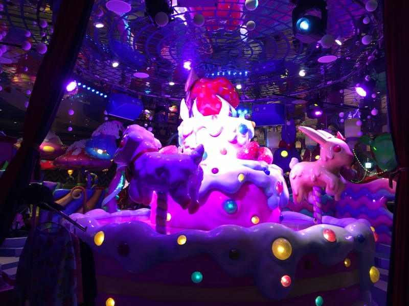 Kawaii Monster cafe in Harajyuku