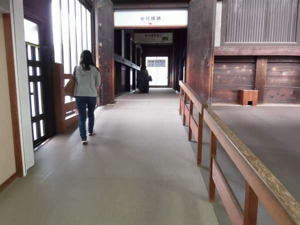 Sanjusangendo is one of the most accessible temples in Kyoto