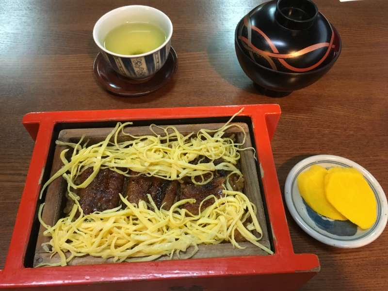 Tasty Unagi (eel) ( Yanagawa's famous  dish lots of people love. Once you have, never forget.)