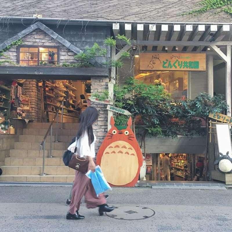 Giburi Shop in Kamkura Shopping street