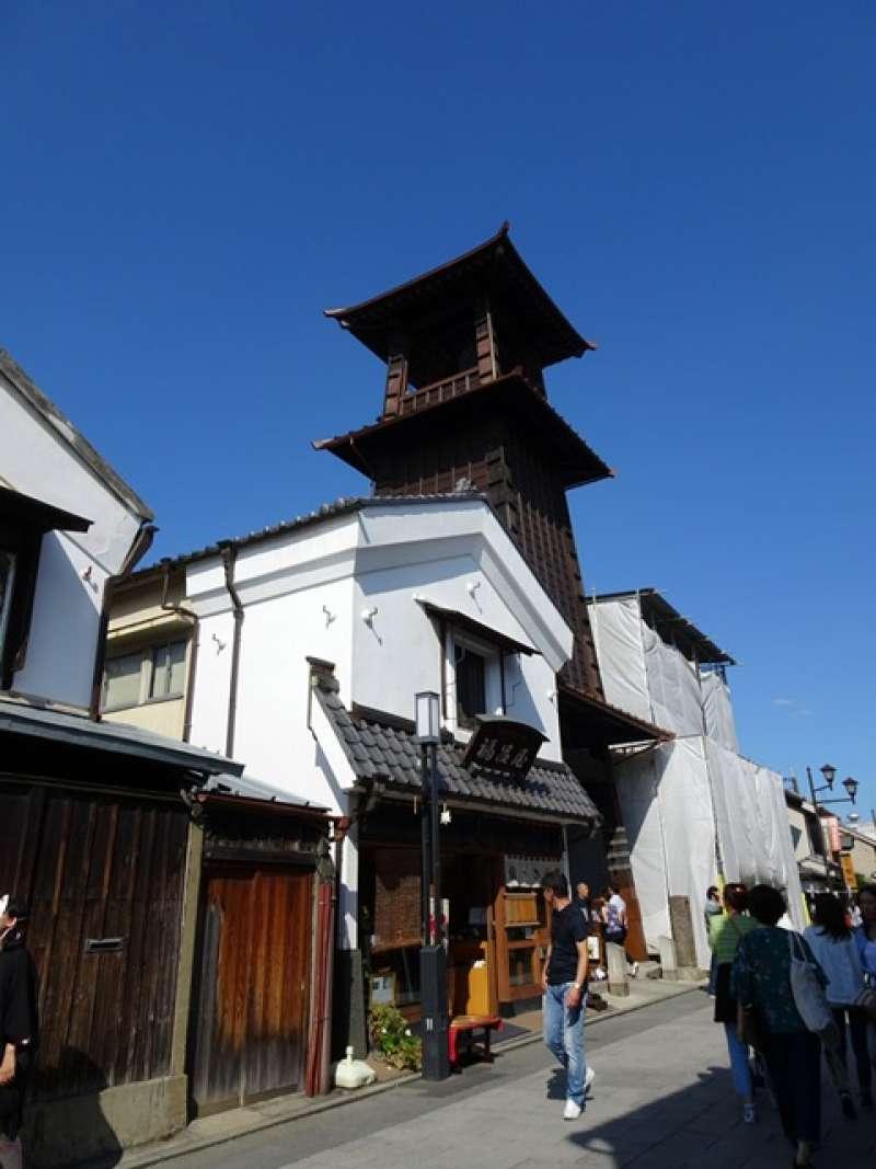 Toki-no-kane -Time Bell Tower is the symbol of Kawagoe
