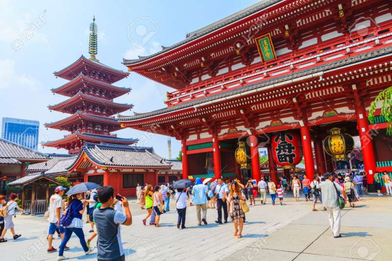 Sensoji Buddhism Temple 2