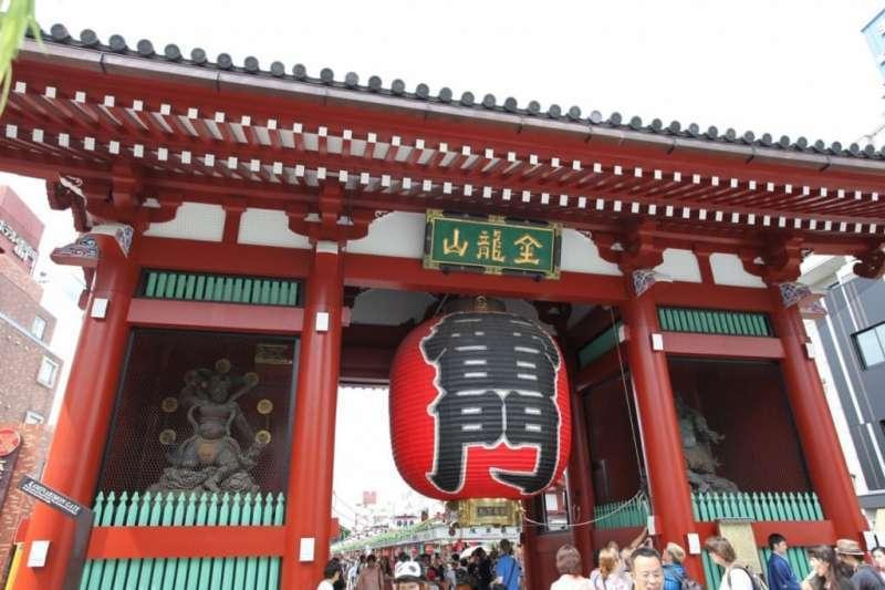 Senso-Ji Temple (Thunder gate)