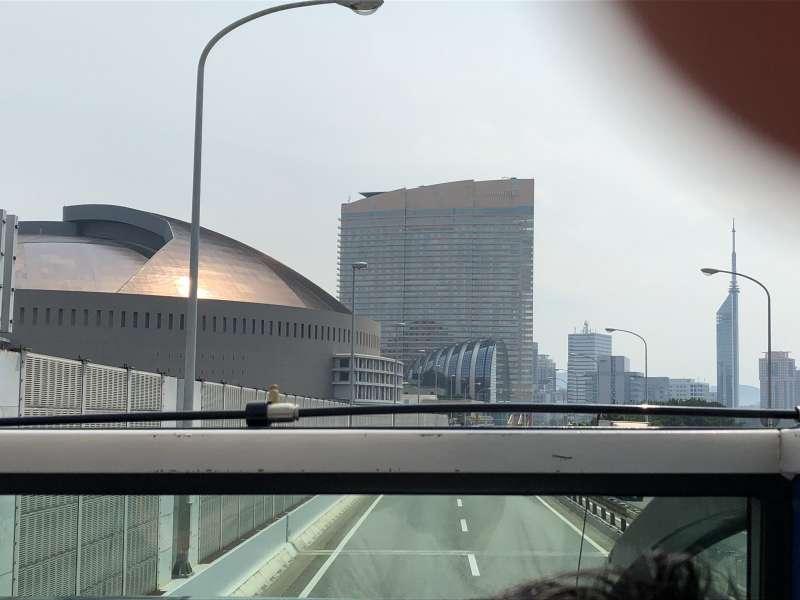 Fukuoka Yahuoku Dome, Hilton Fukuoka Sea Hawk and Fukuoka Tower