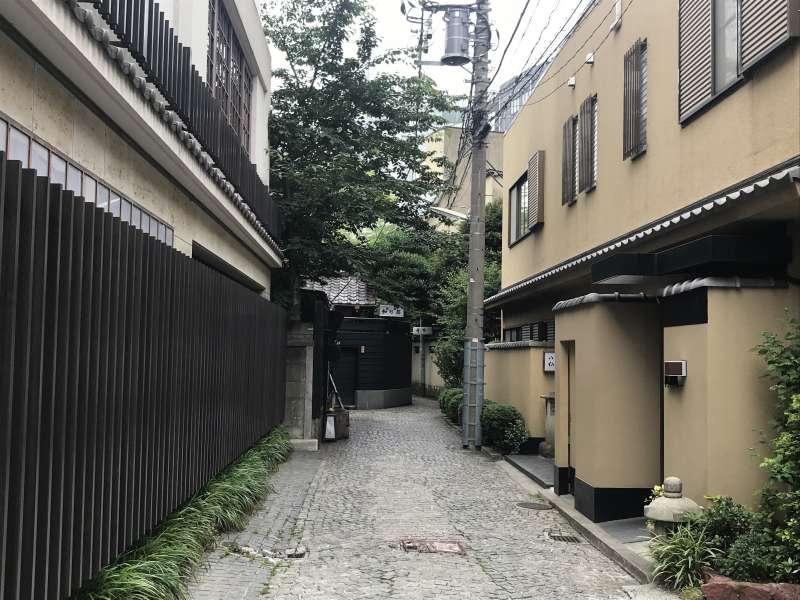 Kagurazaka Ryotei street