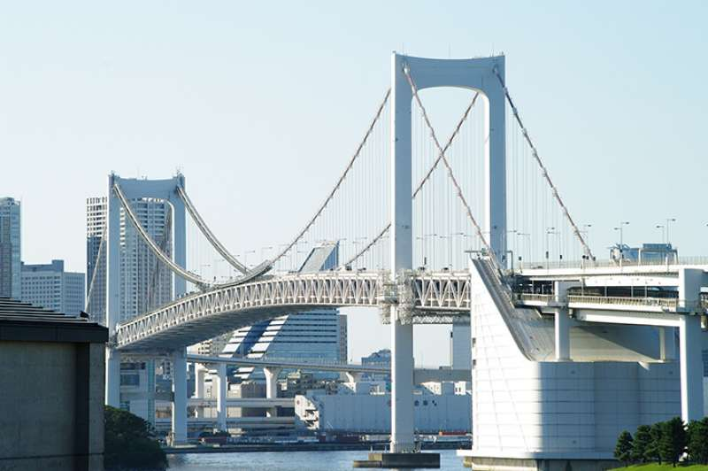 Odaiba Raimbow bridge