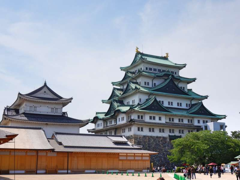 The main tower of Nagoya castle