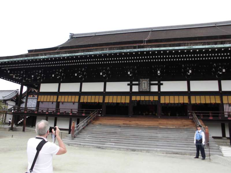 Kyoto Imperial Palace, Shishinden - Main place for the each event